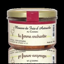 Mousse de foie d'autruche au cognac 180g