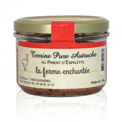 Terrine d'autruche au piment d'Espelette 180g