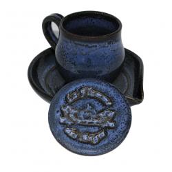 Kit tasse bleu