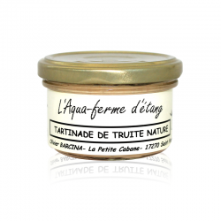Tartinade de Truite nature 90g