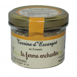 Terrine d'escargot au Cognac 90g