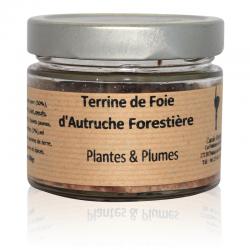 Terrine d'autruche forestière 180g