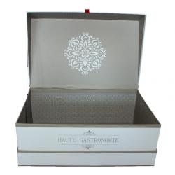 """Coffret blanc """"Haute-Gastronomie"""""""