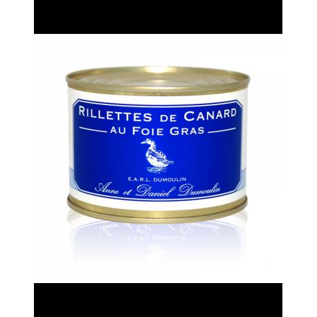 Rillettes de canard au foie gras 255g